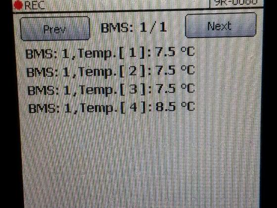 BMS Temperaturen