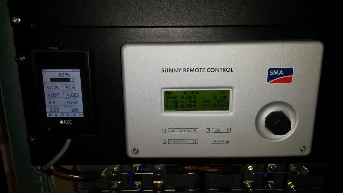 Sunny Remote Control und BMS Remote Monitor
