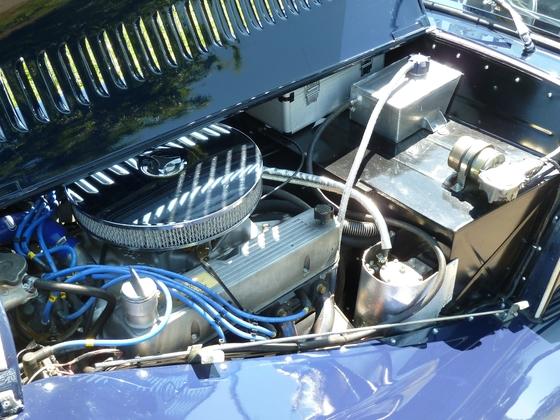 Morgan 8+4 - Engine
