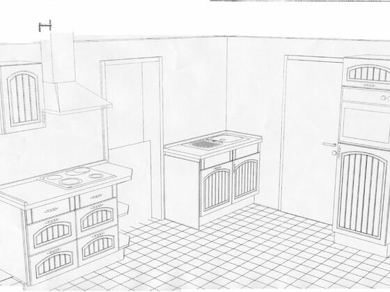1 Küche Plan