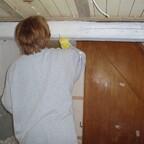 2 Flur Balken Renovierung