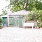 3 Gartenhaus original