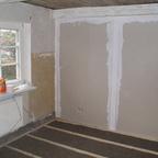2 Neue Bodengrundlage Schlafzimmer