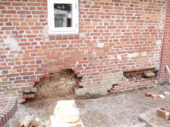 1 Mauerrenovierung haus