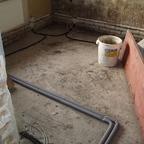 3 Kabel und Heizung Schlafzimmer