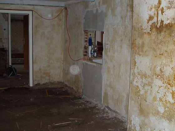 3 Bodenaushub Wohnzimmer